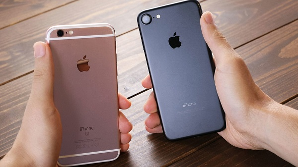 iPhone6sとiPhone7の違い