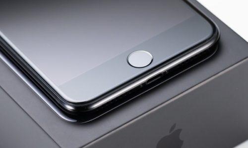iPhone7のホームボタンは触れるだけ