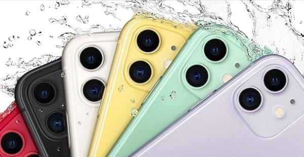 iPhone11のカラーは全6色