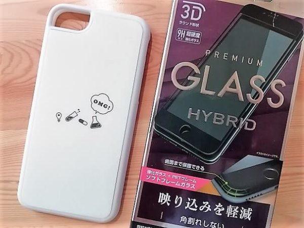 iPhone8のケースやガラスフィルム