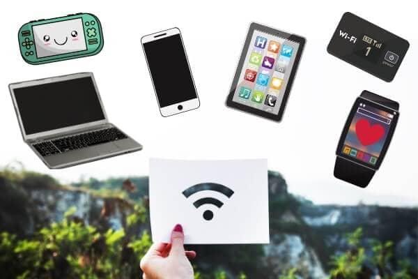 モバイル保険のメリットはwifi機器3つまで補償OK