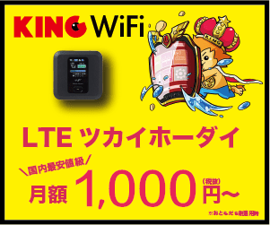 KING WiFiの評判やキャンペーン情報