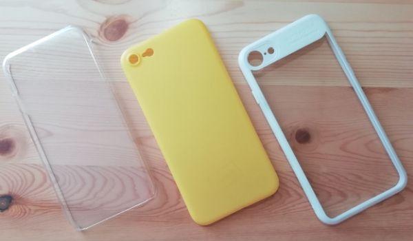 購入したiPhoneケース3つ