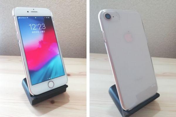 500円のiPhoneケース正面