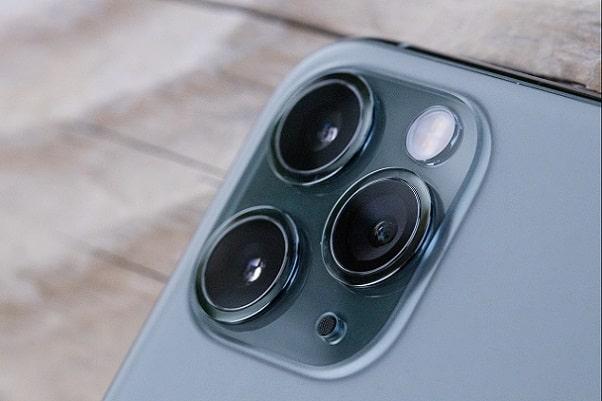 iPhone11 Proのトリプルレンズ